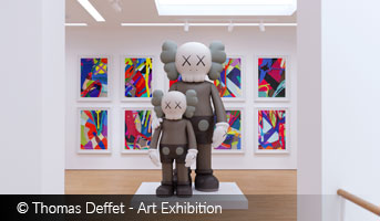 Art Exhebition by Thomas Deffet